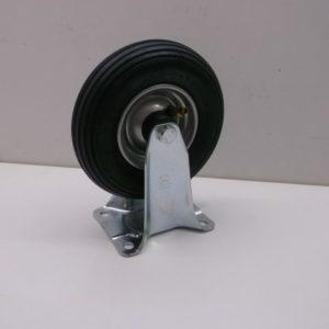 zwenkwielen en bokwielen met luchtband